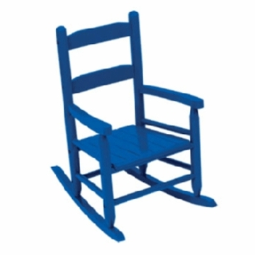 Kidkraft Two Slat Rocking Chair in Blue