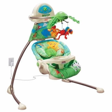 Fisher-Price Rainforest Cradle Swing