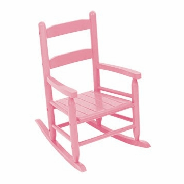 Kidkraft Two Slat Rocking Chair in Pink