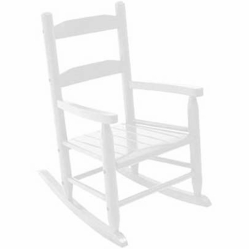 Kidkraft Two Slat Rocking Chair in White
