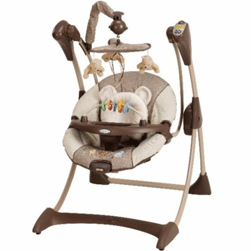 Graco Silhouette Swing in Classic Pooh