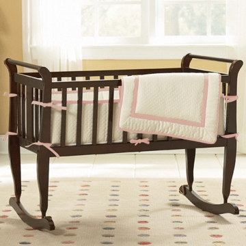 KidsLine 3 Piece Cradle Set in Pink