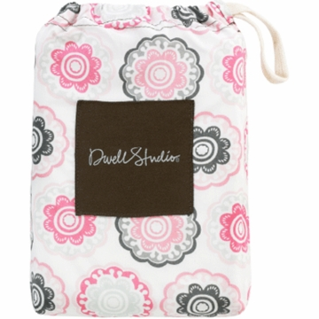 DwellStudio Zinnia Rose Crib Fitted Sheet