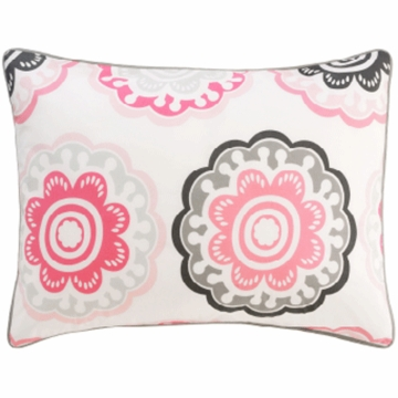 DwellStudio Zinnia Rose Single Standard Sham