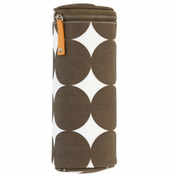 DwellStudio Bottle Holder in Dots Chocolate