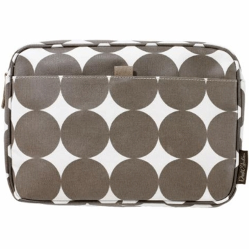 DwellStudio Chocolate Dots Large Travel Case