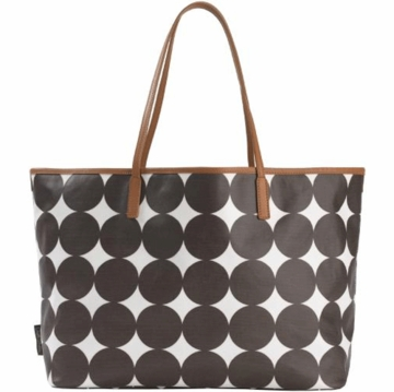 DwellStudio Chocolate Dots Madison Diaper Bag