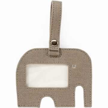 DwellStudio Elephant Dove Grey ID Tag