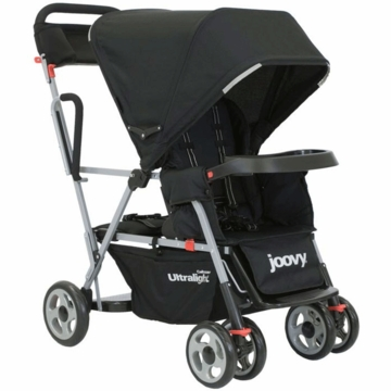 Joovy Caboose Ultralight Black with Parent Organizer