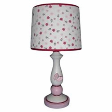 KidsLine Butterfly Meadow Lamp Base and Shade