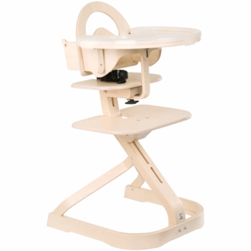 Svan High Chair in Whitewash