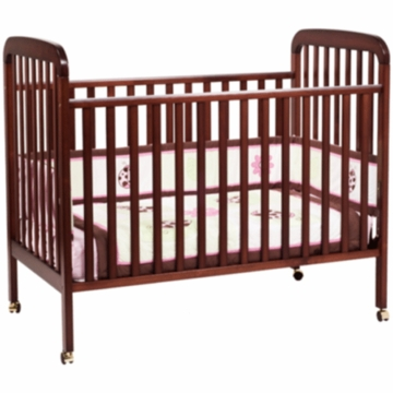 DaVinci Alpha 3-in-1 Stationary Convertible Crib Cherry