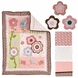 Kids Line Garden Girl 7 Piece Crib Set