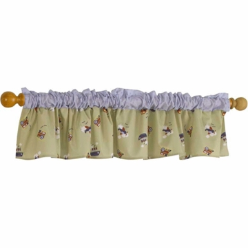 Bedtime Originals Travel Time Window Valance