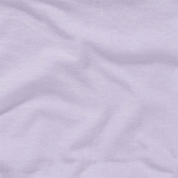 KidsLine Jersey Knit Fitted Crib Sheet in Lilac