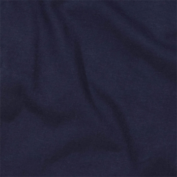 KidsLine Jersey Knit Fitted Crib Sheet in Navy Blue