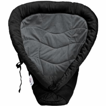 Ergobaby Infant Insert in Black & Charcoal