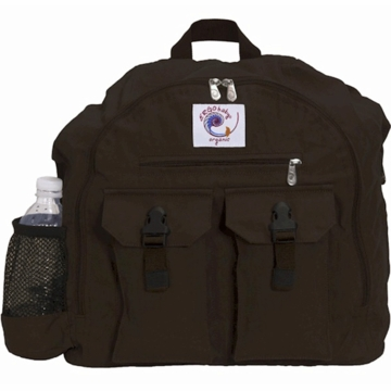 Ergobaby Organic Back Pack Diaper Bag in Dark Chocolate - D