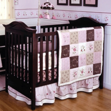 KidsLine Julia 6 Piece Baby Crib Bedding