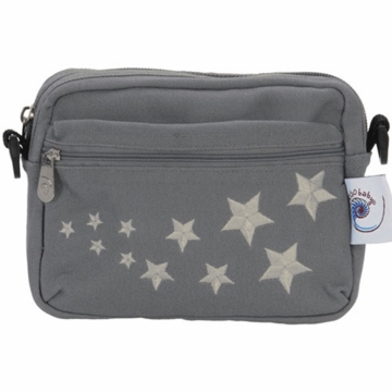 ErgobabyFront Pouch Galaxy Grey Embroidery