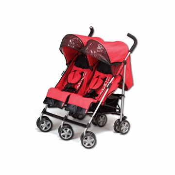 Esprit Sun Speed Duo Double Stroller In Red