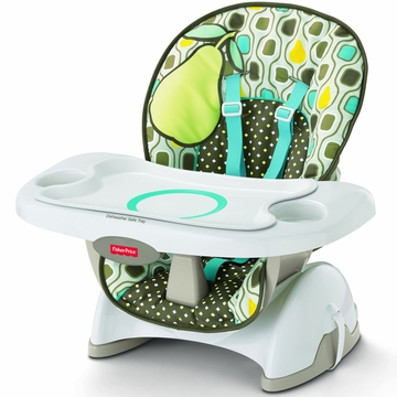 Fisher-Price Deluxe SpaceSaver High Chair - Pear