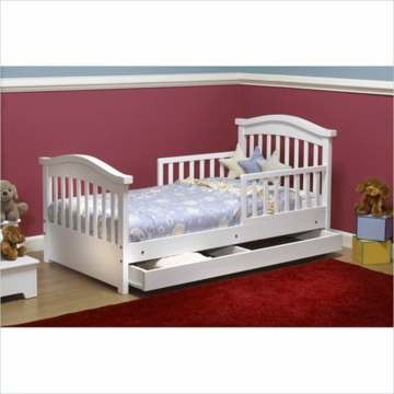 Sorelle Joel Solid Pine Toddler Bed - White