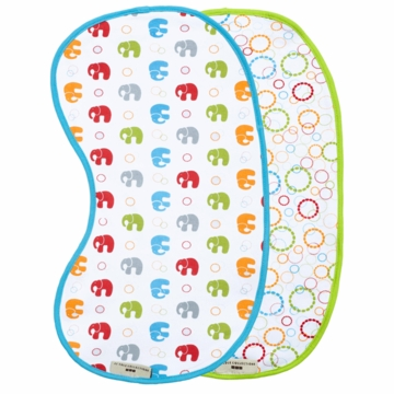 JJ Cole Burp Cloth Set Primary