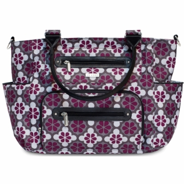 JJ Cole Caprice Diaper Bag - Vintage Poppy