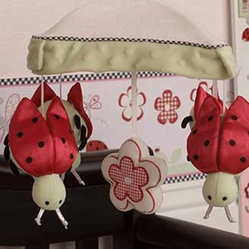KidsLine Lady Bug Musical Mobile