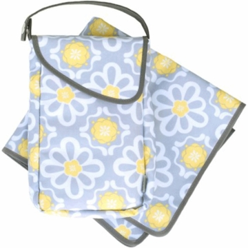 JJ Cole Diapers & Wipes Pod Set in Lemon Posy