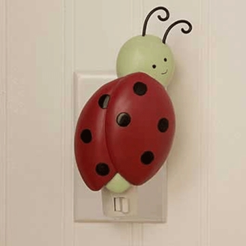 Kids Line Lady Bug Night Light