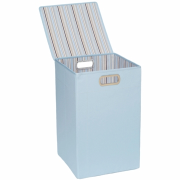JJ Cole Hamper - Blue Stripe