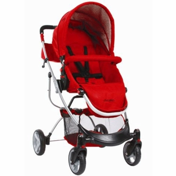 The First Years Indigo Stroller Retro Geo Red
