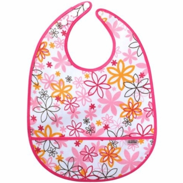 JJ Cole Large Bib Pink Craze