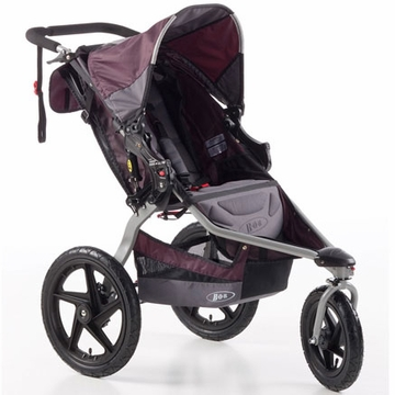 BOB Revolution SE Single Stroller - Plum