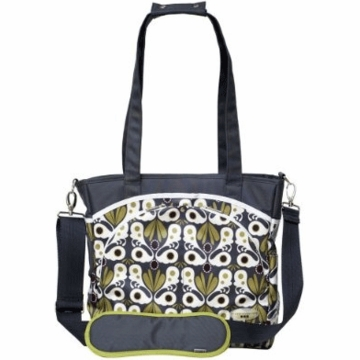 JJ Cole Mode Bag Gray Flora