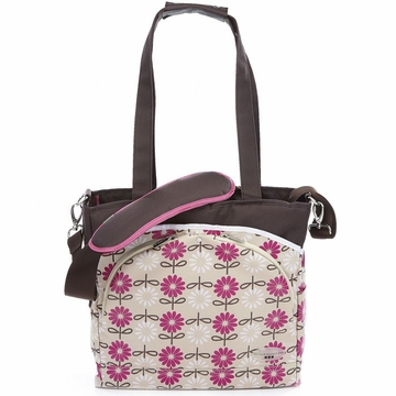 JJ Cole Mode Tote Bag - Pink Daisy