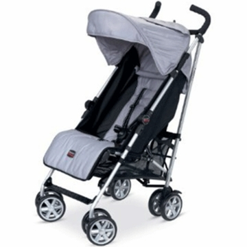 Britax B-Nimble Stroller in Black/Silver