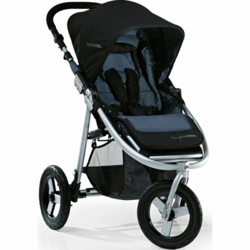 "Bumbleride 2012 Indie 3 Wheel Design Stroller with 12"" Air Tires in Lava"