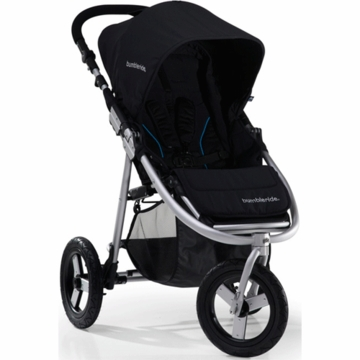 "Bumbleride 2012 Indie 3 Wheel Design Stroller with 12"" Air Tires in Jet"