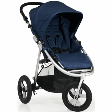 "Bumbleride 2012 Indie 3 Wheel Design Stroller with 12"" Air Tires in Ocean"