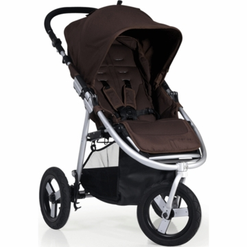 "Bumbleride 2012 Indie 3 Wheel Design Stroller with 12"" Air Tires in Walnut"