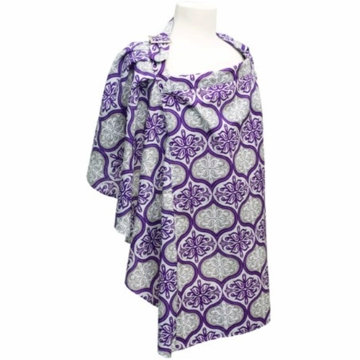 JJ Cole Nursing Cover - Violet Brocade