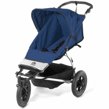 Mountain Buggy - 2005 Urban Single Jogging Stroller in Navy