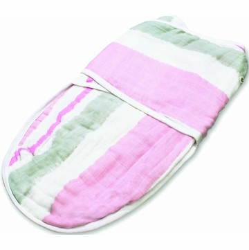 Aden + Anais Easy Swaddle - For the Birds, Paintbrush Stripe (S/M)