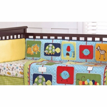 CoCaLo Brooklyn Crib Bumper
