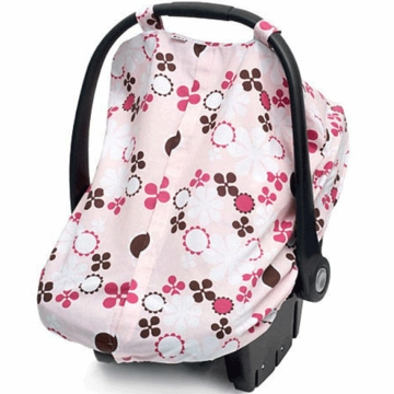 JJ Cole Car Seat Canopy - Pink Blossom