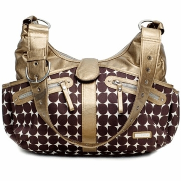 JJ Cole Swag Diaper Bag - Bronze Drop