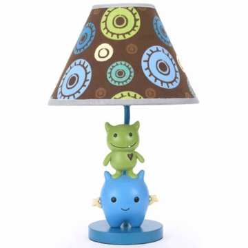 CoCaLo Peek A Boo Monsters Lamp Base & Shade